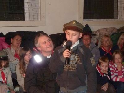 Recytacja 2 - najmłodszy uczestnik