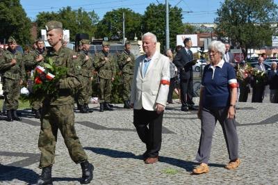 W drodze do Pomnika Marsz. J. Pilsudskiego