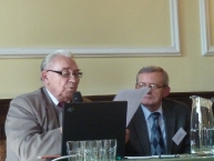 dr inż. Zygfryd Gładkowski - TMWiZW, WP - Olsztyn, z lewej