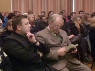 Ksiądz J. Witkowski i St. Pieszko