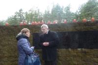Pani Redaktor Anna Pieszko z dr Wilczewskim