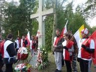 Pod Pomnikiem Żołnierzy WP z lat 1919-1921