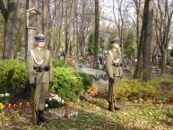 Uroczystość 1-go listopada. Powązki 2013