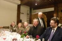 Uroczysty obiad w Wilnie