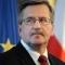 Komorowski: są nierozwiązane sprawy między Polską a Litwą